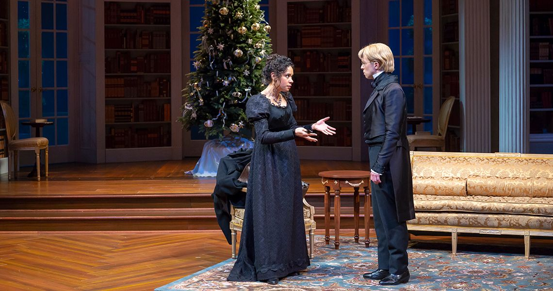 Christmas At Pemberley.Cincyplay Miss Bennet Christmas At Pemberley