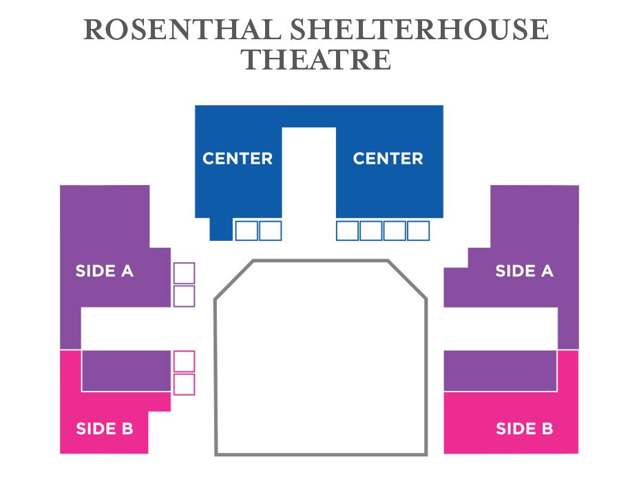 Shelterhouse Seating Map
